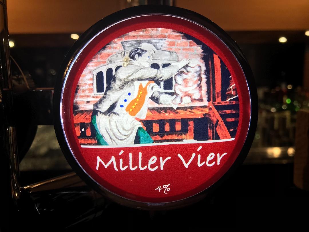 Miller ale & Miller vier larger