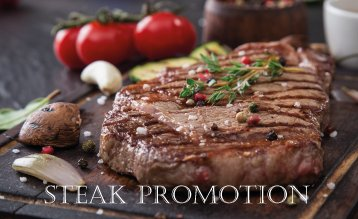 Steak Promotion!
